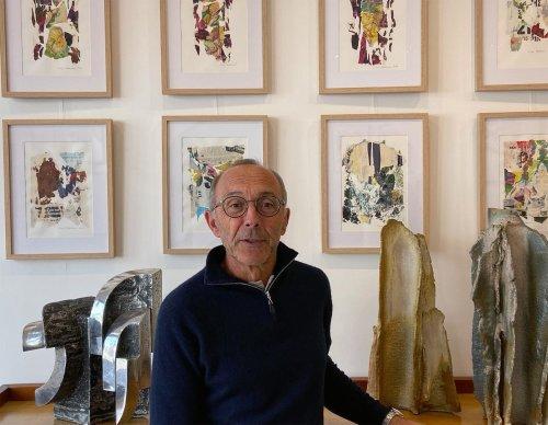 Arcachon : les collages de Max Partezana dans l'écrin de la galerie Téthys