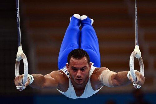 JO. Gymnastique : Samir Aït-Saïd en capitaine courage