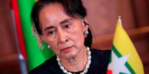 La junte birmane annule les résultats des élections de 2020 remportées par Aung San Suu Kyi