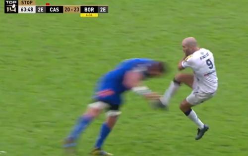 Rugby/Top 14 : « J'ai jamais vu ça », dit Urios au sujet du plaquage contre Lucu