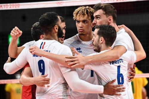 JO/Volley-ball : les Français en quarts de finale pour la première fois