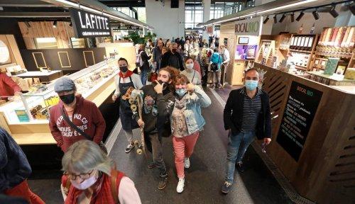 En images : l'ouverture des Halles de Dax samedi 16 octobre