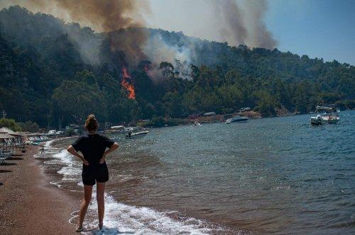 Incendies en Turquie : une centrale thermique menacée, les évacuations continuent
