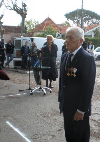 Andernos-les-Bains : Pierre Darvant à nouveau honoré