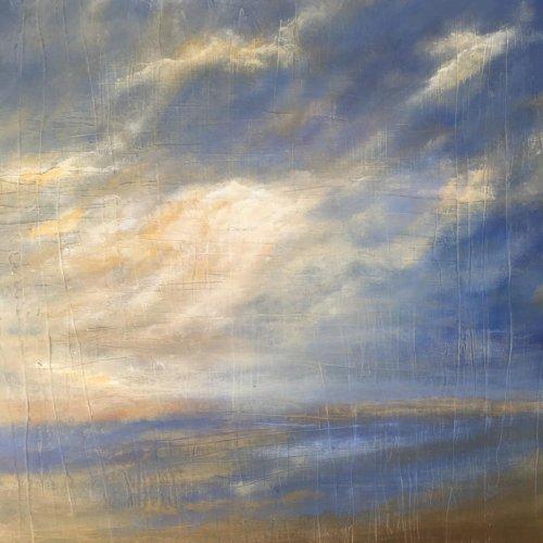 Les cieux et les embruns du peintre de la Côte d'Argent Jean-Luc Maurin
