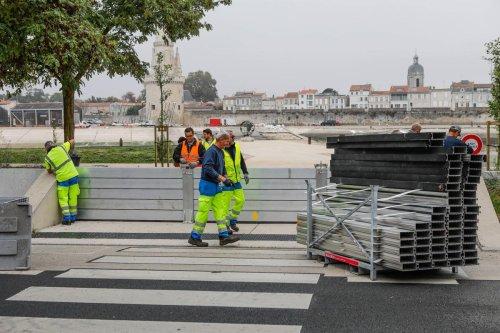 La Rochelle teste son dispositif anti-submersion
