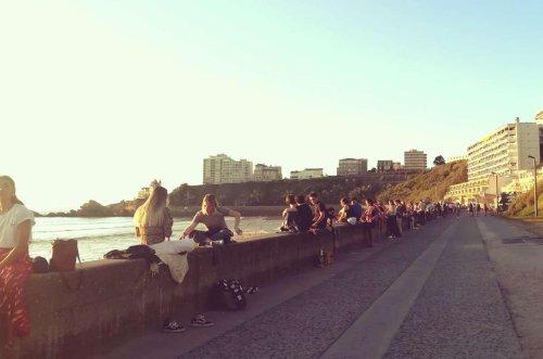 Biarritz : elles cherchaient la bagarre à la Côte des Basques, elles ont été interpellées