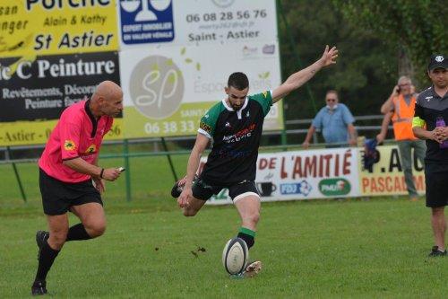 Rugby (Fédérale 3) : première victoire logique de Saint-Astier/Neuvic face à Blaye