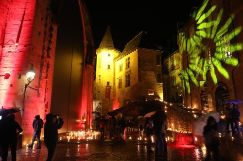 Dordogne : le patrimoine de Sarlat illuminé