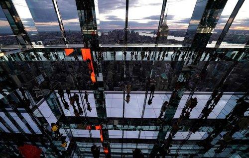 À New York, une nouvelle attraction dans un gratte-ciel, 300 mètres au-dessus du vide
