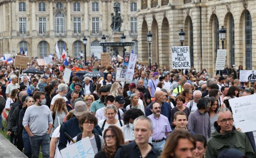 Bordeaux : les manifestants contre le pass sanitaire restent mobilisés