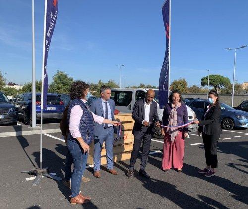 Agglomération de Bordeaux : un nouveau parking de covoiturage à l'échangeur 42 de l'autoroute A 10