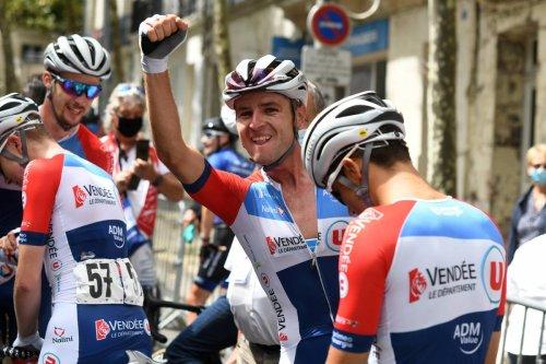 Cyclisme/Bordeaux-Saintes : Sandy Dujardin, vainqueur, « C'est pour ça que je fais du vélo »