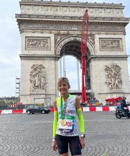 Sainte-Bazeille : 6e place au marathon de Paris pour Ghislaine Bertelle