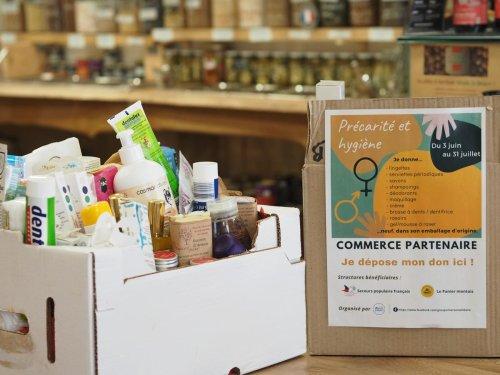 À Mont-de-Marsan et dans son agglomération, il reste encore un mois pour donner des produits d'hygiène aux plus démunis