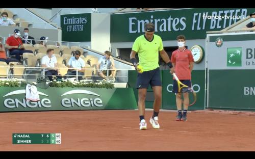 Roland-Garros. « C'est tellement impressionnant » : ces jeunes Landais qui ont côtoyé de près Nadal et Djokovic