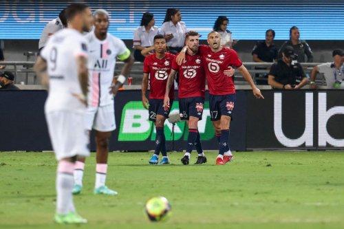 Trophée des champions : Lille décroche son premier titre de la saison en battant le PSG (1-0)