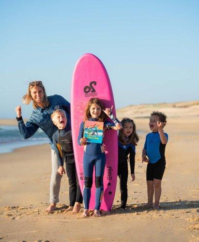 Côte sud : Florence Delcloy édite un nouvel album jeunesse sur le thème du surf