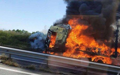 Charente : récit d'une journée noire et brûlante sur la RN 10
