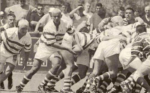 Dans les archives du rugby à Périgueux : le dimanche 24 mai 1998, Doussy estoque les Gersois