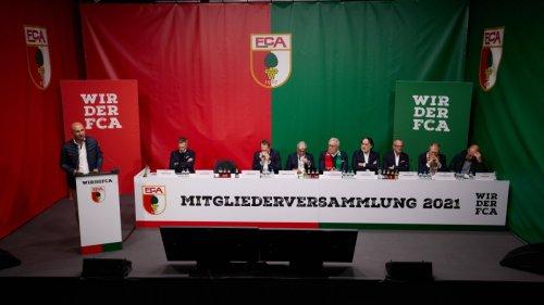 Mitgliederversammlung des FC Augsburg:Rückendeckung für Weinzierl
