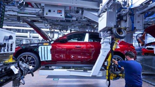 BMW-Werk:Das erste Elektroauto Münchens ist da