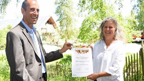 Olching:Auszeichnung für Bauernhofkindergarten