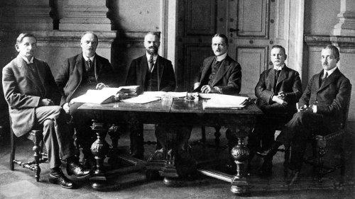 """Friedensvertrag von Versailles:""""Wir kennen die Wucht des Hasses"""""""
