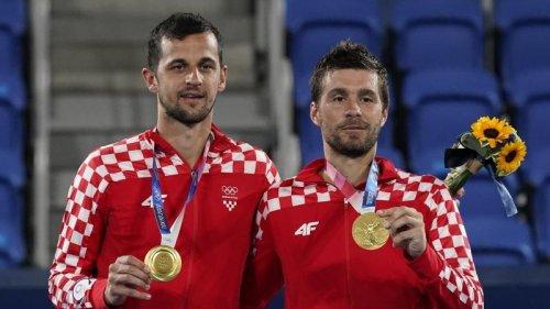 Olympia:Kroaten Mektic/Pavic holen Gold im Doppel
