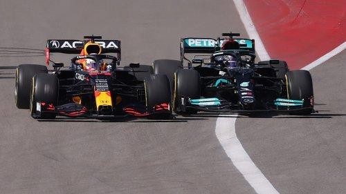 Formel 1 in Austin:Flucht ins Ziel im Mercedes-Revier