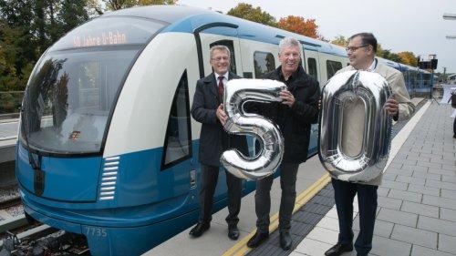 50 Jahre Münchner U-Bahn:So sieht der Jubiläumszug aus
