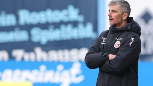 Fußball - Rostock:Hansa Rostock will wieder Rang zwei