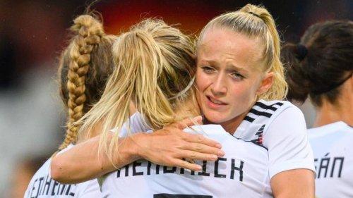Fußball:Konkurrenzkampf bei DFB-Frauen eröffnet