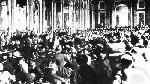 """Versailler Vertrag:""""Für die Franzosen waren die Deutschen Verbrecher"""""""