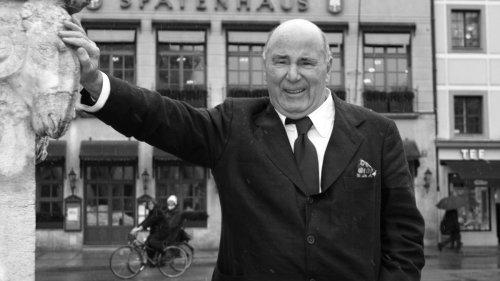 Nachruf:Großgastronom und ehemaliger Wiesnwirt Roland Kuffler ist tot