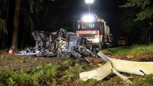 Luftverkehr:Zwei Tote bei Absturz eines Tragschraubers