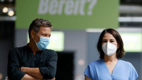 Newsblog zur Bundestagswahl:Habeck: Wir müssen jetzt erfolgreich durchdribbeln