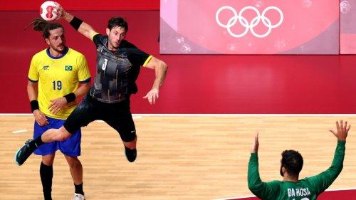 Olympia:Deutsche Handballer bestehen die Abschlussprüfung
