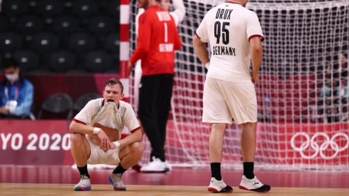Olympia:Deutsche Handballer verlieren gegen Frankreich