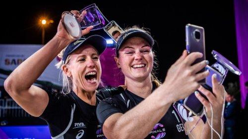 Borger/Sude gewinnen World-Tour-Finale:Ohne Trainer, aber mit Psychologin