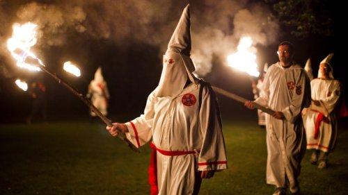 Rechtsextremismus:Ku-Klux-Klan noch immer in Deutschland aktiv