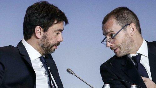 """Fußball:UEFA-Boss Ceferin sieht """"keine Beziehung"""" zu Agnelli mehr"""