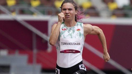 """Olympische Spiele:Belarussische Läuferin ist """"sicher und geschützt"""""""