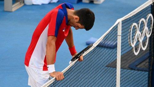 Novak Djoković bei Olympia:Die Siegmaschine ist in Wirklichkeit ein Mensch
