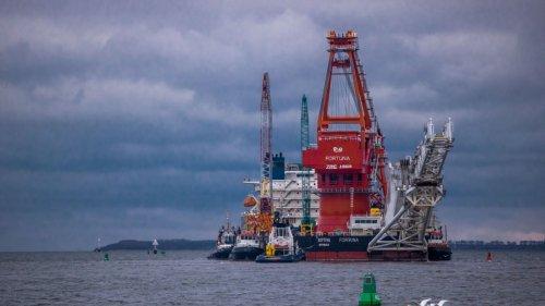 US-Sanktionen:Unternehmen ziehen sich von Nord Stream 2 zurück