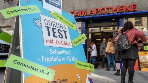Coronavirus:FDP und Grüne fordern Rückkehr zu kostenlosen Corona-Tests