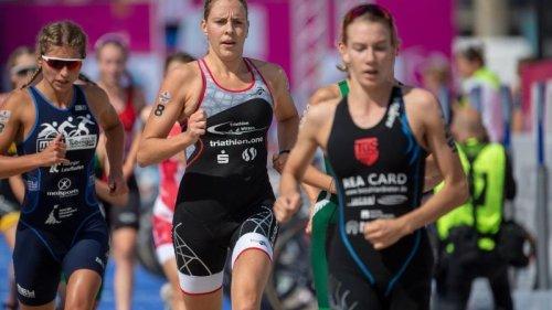 Triathlon:Triathlon: EM-Silber für Koch auf der Kurzdistanz