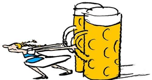 Warum sind in Bayern die Bierkrüge so groß?