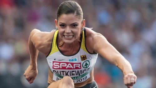 Leichtathletik:Der Bauch sagt nein