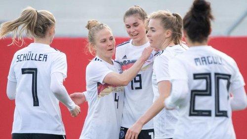Selbstbewusst und erfolgreich: DFB-Frauen bezwingen Norwegen